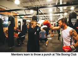 Dayton Fitness: Title Boxing Club