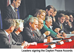 Culture Works: Dayton Peace Accords Logo Contest